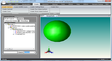 MFC Application for 3D Visualization