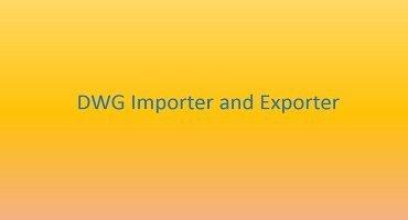 DWG Importer