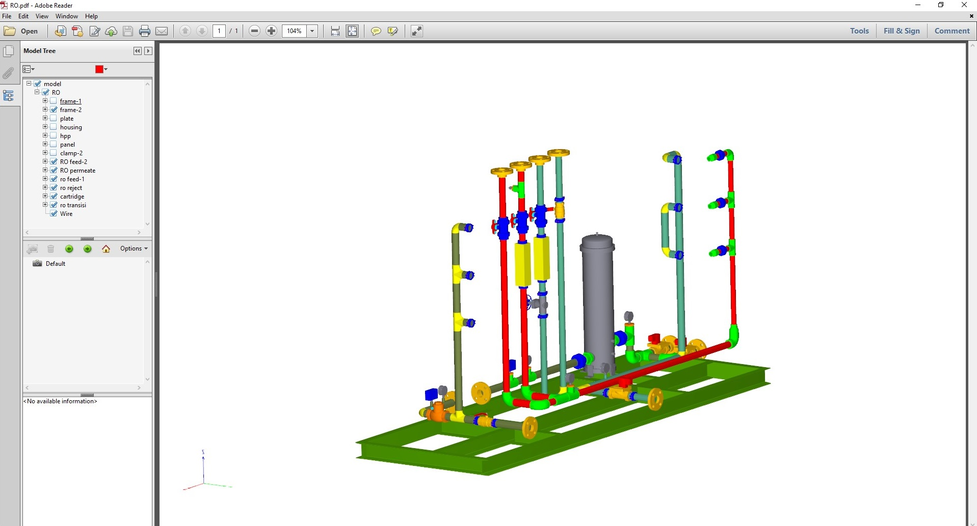 Prototech releases new version for 3d pdf exporter for for Pdf a cad