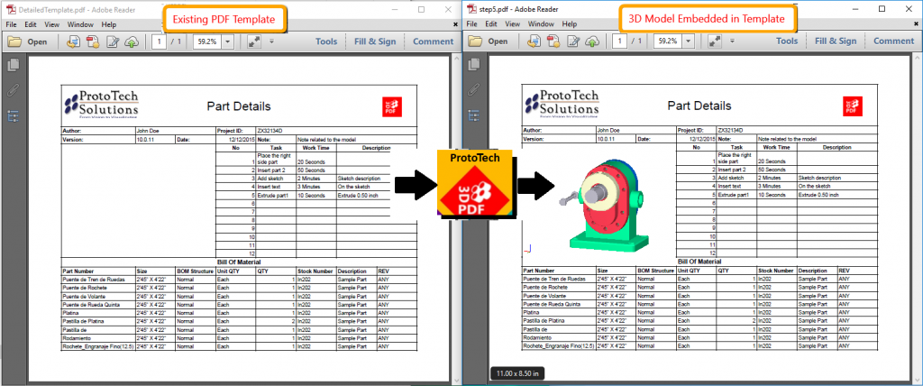 ProtoTech adds 'Polygon Reduction' and 'PDF Template' to its