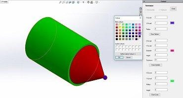 Custom GUI in Solidworks