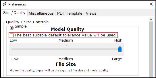 3D PDF Converter, Polygon Reduction, 3D PDF Exporter Inventor
