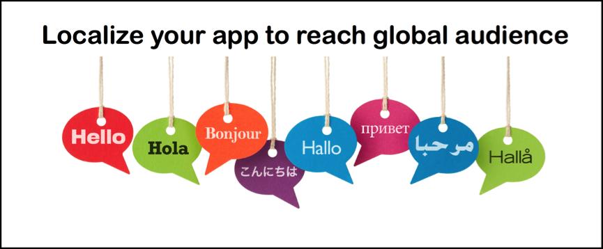 Mobile Localization Test