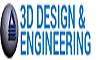 3D Design and Engineering logo 1