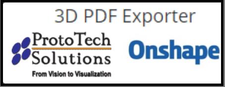 3d pdf exporter onshape cad